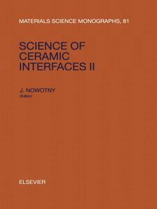 Ebook in inglese Science of Ceramic Interfaces II -, -