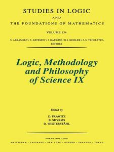 Ebook in inglese Logic, Methodology and Philosophy of Science IX -, -