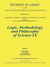 Logic, Methodology and Philosophy of Science IX