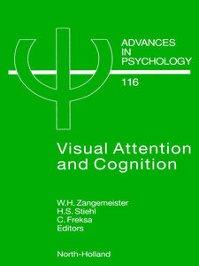 Foto Cover di Visual Attention and Cognition, Ebook inglese di AA.VV edito da Elsevier Science