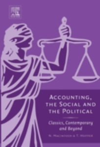 Ebook in inglese Accounting, the Social and the Political -, -