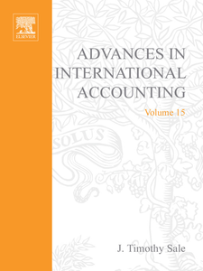 Ebook in inglese Advances in International Accounting -, -