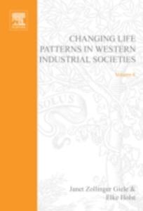 Ebook in inglese Changing Life Patterns in Western Industrial Societies -, -