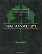Encyclopedia of Nationalism, Two-Volume Set