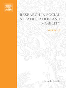 Ebook in inglese Research in Social Stratification and Mobility -, -