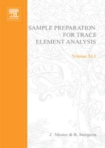 Ebook in inglese Sample Preparation for Trace Element Analysis Mester, Zoltan , Sturgeon, Ralph E.