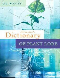 Ebook in inglese Dictionary of Plant Lore Watts, D.C.