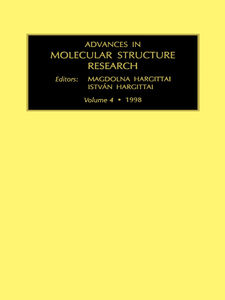 Ebook in inglese Advances in Molecular Structure Research, Volume 4 Hargittai, I. , Hargittai, M.