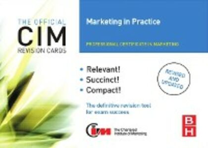 Ebook in inglese CIM Revision Cards Marketing in Practice Williams, John