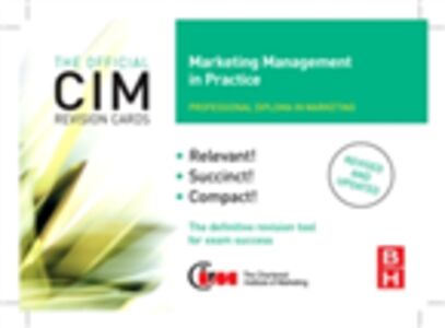 Ebook in inglese CIM Revision Cards Marketing Management in Practice Williams, John