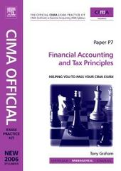 CIMA Exam Practice Kit Financial Accounting and Tax Principles