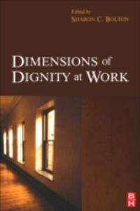 Ebook in inglese Dimensions of Dignity at Work