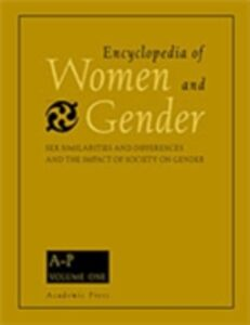 Foto Cover di Encyclopedia of Women and Gender, Two-Volume Set, Ebook inglese di  edito da Elsevier Science