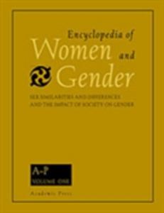 Ebook in inglese Encyclopedia of Women and Gender, Two-Volume Set -, -
