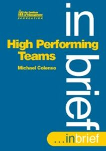 Ebook in inglese High Performing Teams In Brief Colenso, Michael