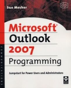 Ebook in inglese Microsoft Outlook 2007 Programming Mosher, Sue