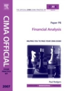 Ebook in inglese CIMA Exam Practice Kit Financial Analysis Rodgers, Paul