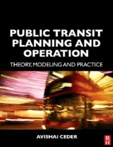Ebook in inglese Public Transit Planning and Operation Ceder, Avishai