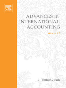 Foto Cover di Advances in International Accounting, Ebook inglese di J. Timothy Sale, edito da Elsevier Science