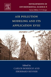 Ebook in inglese Air Pollution Modeling and its Application XVIII -, -
