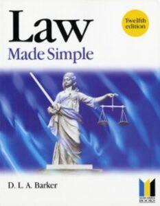 Foto Cover di Law Made Simple, Ebook inglese di D. Barker,Colin Padfield, edito da Elsevier Science