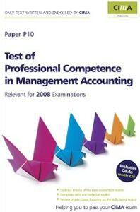 Ebook in inglese CIMA Official Learning System Test of Professional Competence in Management Accounting Barnwell, Heather