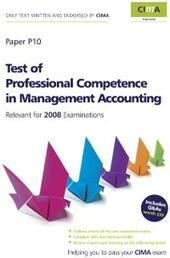 CIMA Official Learning System Test of Professional Competence in Management Accounting