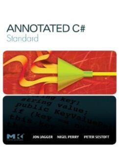 Ebook in inglese Annotated C# Standard Jagger, Jon , Perry, Nigel , Sestoft, Peter