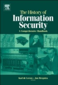 Foto Cover di History of Information Security, Ebook inglese di  edito da Elsevier Science