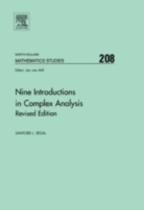 Ebook in inglese Nine Introductions in Complex Analysis - Revised Edition Segal, Sanford L.