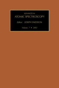 Ebook in inglese Advances in Atomic Spectroscopy (Vol. 7) -, -