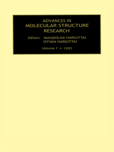 Ebook in inglese Advances in Molecular Structure Research, Volume 1 -, -
