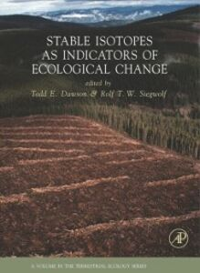 Foto Cover di Stable Isotopes as Indicators of Ecological Change, Ebook inglese di  edito da Elsevier Science