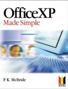 Ebook in inglese Office XP Made Simple MCBRIDE, P K