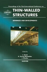 Foto Cover di Thin-Walled Structures - Advances and Developments, Ebook inglese di AA.VV edito da Elsevier Science