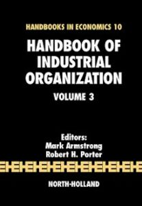 Ebook in inglese Handbook of Industrial Organization -, -