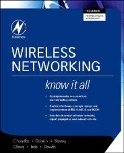 Ebook in inglese Wireless Networking: Know It All Bensky, Dan , Chandra, Praphul , Dobkin, Daniel M. , Dowla, Farid