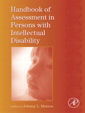 Handbook of Assessment in Persons with Intellectual Disability