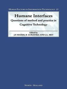 Ebook in inglese Humane Interfaces