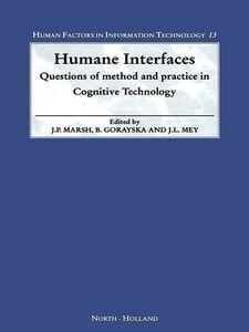 Foto Cover di Humane Interfaces, Ebook inglese di AA.VV edito da Elsevier Science