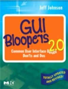 Ebook in inglese GUI Bloopers 2.0 Johnson, Jeff