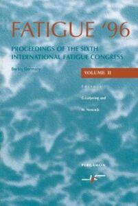 Foto Cover di Fatigue '96, Ebook inglese di G. Lutjering,H. Nowack, edito da Elsevier Science