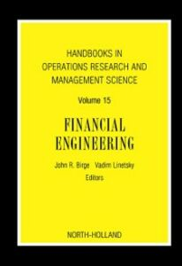 Foto Cover di Handbooks in Operations Research and Management Science: Financial Engineering, Ebook inglese di  edito da Elsevier Science