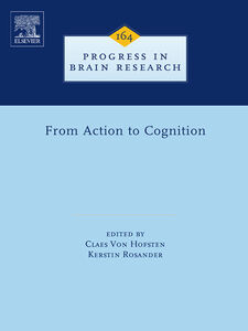 Ebook in inglese From Action to Cognition -, -