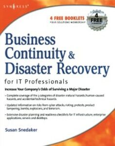 Ebook in inglese Business Continuity and Disaster Recovery Planning for IT Professionals Snedaker, Susan