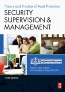 Ebook in inglese Security Supervision and Management IFP, FPO