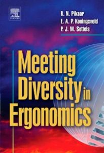 Ebook in inglese Meeting Diversity in Ergonomics -, -