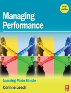Ebook in inglese Managing Performance Leech, Corinne