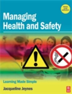 Ebook in inglese Managing Health and Safety Jeynes, Jacqueline