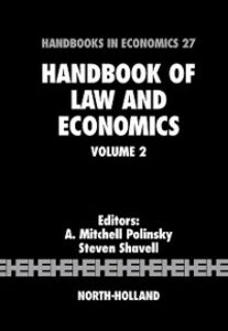 Ebook in inglese Handbook of Law and Economics -, -